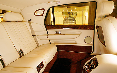 inside a bentley limo cool cars