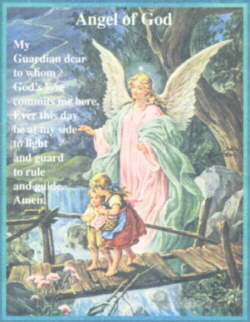 Angel Guardian - Catholic Prayer