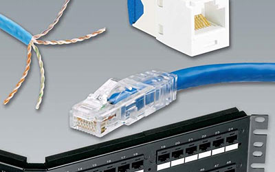 Gigabit Copper on 10 Gigabit Ethernet Copper   Modular Utp Cabling System With Jacks