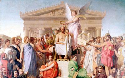 Greek Mythology Yenra