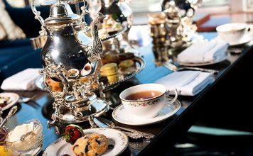 Afternoon Tea Pfister Hotel