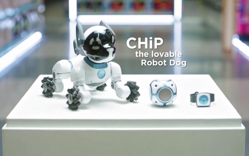 CHiP the Lovable Robot Dog - Yenra