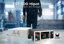 Compact Hipot Electrical Safety Tester Integrates AC/DC Withstand and Insulation Resistance Functionality