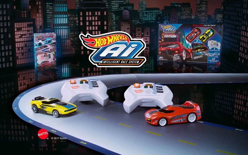 Hot Wheels® Ai Starter Set Street Racing Edition Track Set ...
