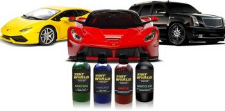 Tint World Super Glossy Nano Ceramic Coating: Durable, Scratch-Resistant, Water Resistant