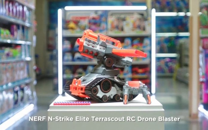Nerf N-Stroke Elite Terrascout RC Drone Blaster