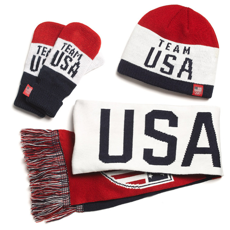 Old Navy Team USA Collection: Winter Knit Mittens, Hats