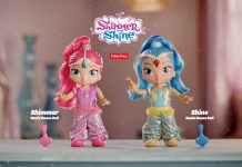 Shimmer Shine Genie Dance Dolls
