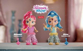 Shimmer Shine Genie Dance Dolls