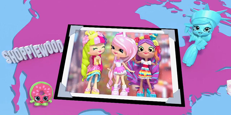 Shopkins World Vacation Introduce Geography Adventure