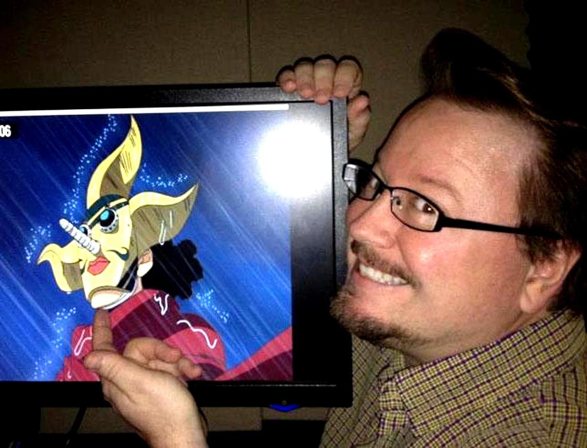 Comic Book Artist, Voice Actor Sonny Strait Otakon 2016 ...
