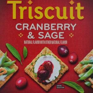 Cranberry sage crackers