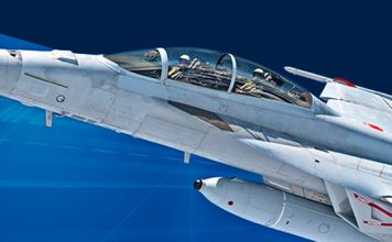 Navy F/A-18E/F IRST21 Infrared Sensor System Detects and Tracks Airborne Threats