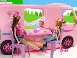 Barbie Dream Camper Set