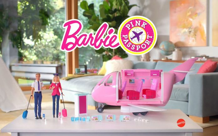 Barbie Pink Passport Jet