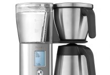 Versatile Breville Precision Brewer Produces One, Twelve Cups, Pour Over, Cold Brew