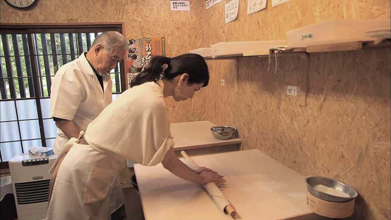 Experience Japan culture in a soba-making workshop