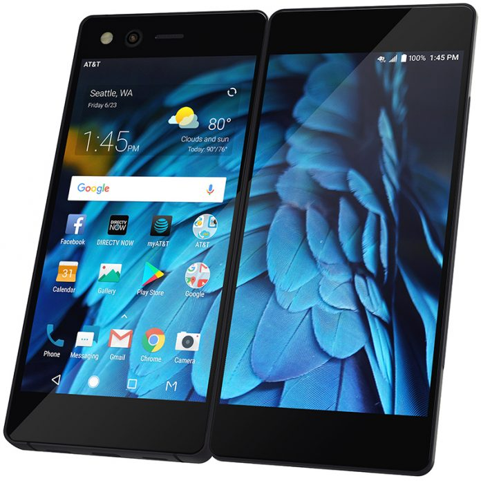 Foldable Dual-Screen Smartphone