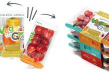 Fresh Vegetables Packaged for Kids