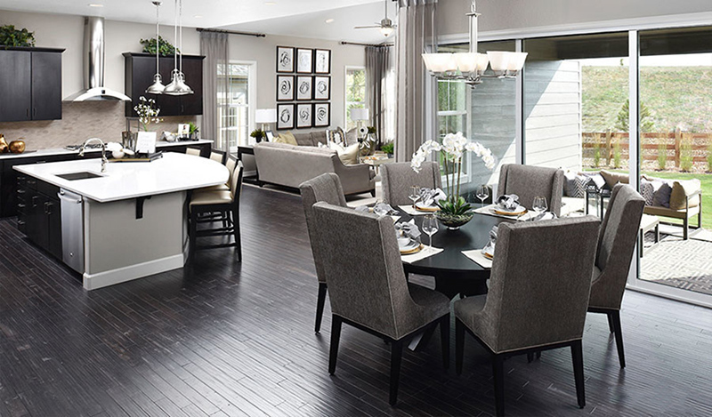 Interior Merchandising of a Model Home - Daley