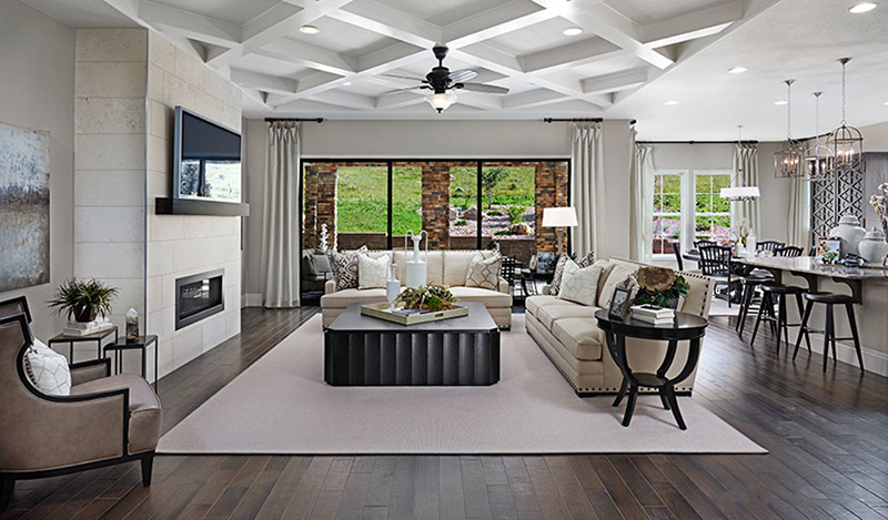 Interior Merchandising of a Model Home - Holbrook