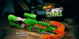 Nerf Zombie Strike Dreadbolt Crossbow