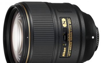 Nikon 105mm 1.4E Lens