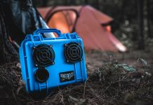 Rugged Bluetooth Boom Box