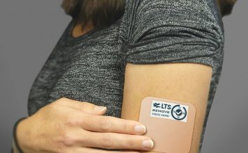 Smart Patch Transdermal Therapeutic System Displays Directions, Performance
