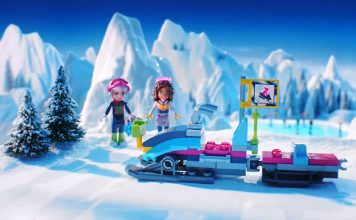 Snow Resort Sets from Lego Friends