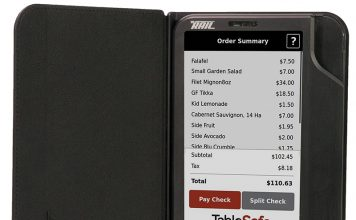TableSafe Rail Pay-at-the-Table Platform Supports Magnetic Stripe, Chip-Enabled EMV Cards