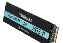 Toshiba Client NVMe SSD
