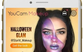 YouCam Makeup Halloween Glam