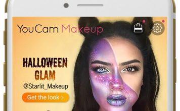 YouCam Makeup Halloween Glam