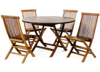 Superb Teak Patio Furniture